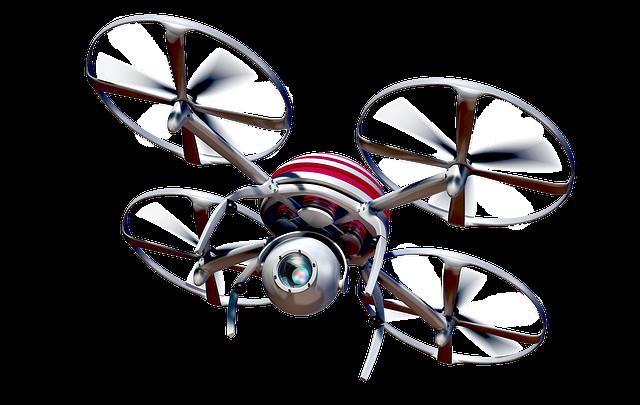 Film con un drone nell'eccesso di vento sull'acqua