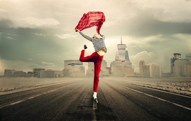 La danza addominale è un'opera danzante sensual