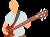 Attacca una cinghia da chitarra a una chitarra
