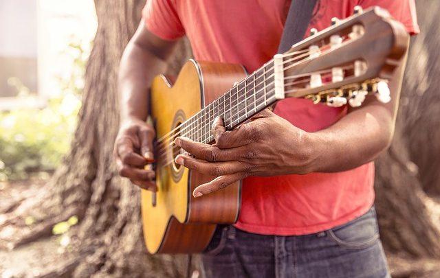 Il design per riprodurre i DVD di Guitar